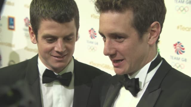 Alistair Brownlee Jonny Brownlee at Team GB Ball on November 30 2016 in London England