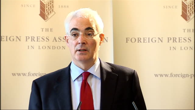 Alistair Darling addresses the Foreign Press Association Each of these steps if combined could mean a whole much greater than the sum of its parts...