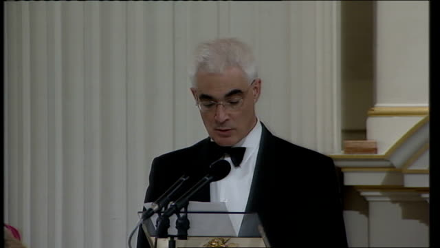alistair darling speech to city of london a slimmed down court will have oversight and a new financial stability committee including nonexecutive... - lord mayor of london city of london stock videos & royalty-free footage