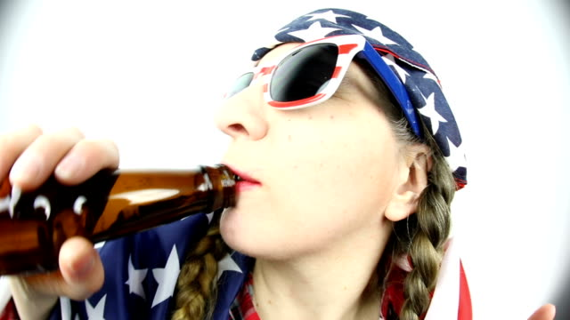 all american redneck woman - hillbilly stock videos & royalty-free footage