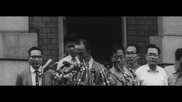 all defendents confirmed not guilty matsukawa incident/people waiting for final verdict on matsukawa incident still photographs and investigation... - defendant stock videos & royalty-free footage