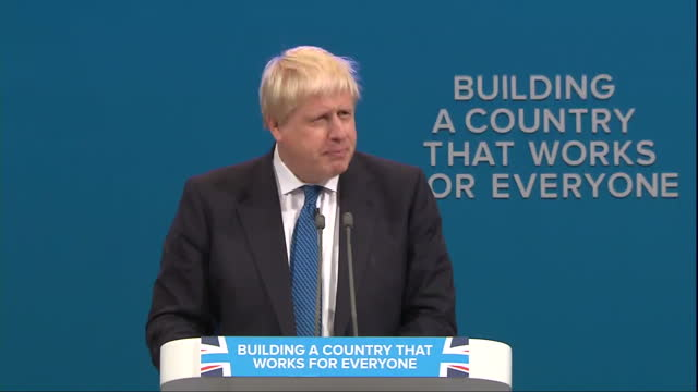 All eyes were on the Foreign Secretary earlier as he took to the stage here in Manchester to address Conference But it was a rather subdued Boris...
