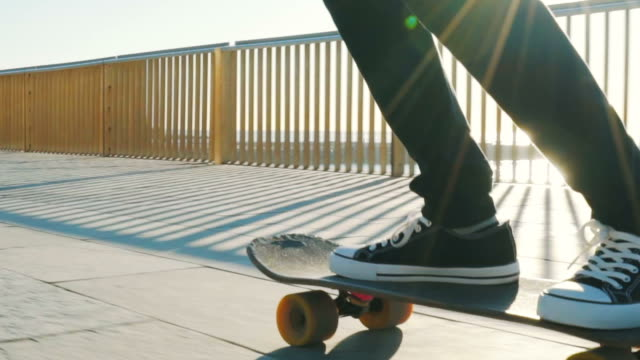 all i need is my skateboard. - unrecognisable person stock videos & royalty-free footage