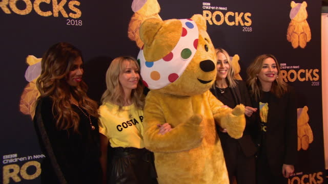 vidéos et rushes de all saints at bbc children in need rocks - charity concert - bbc children in need