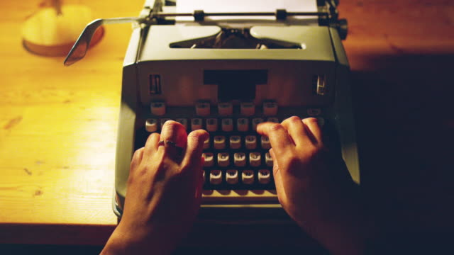 all she needs are keys - typewriter stock videos & royalty-free footage