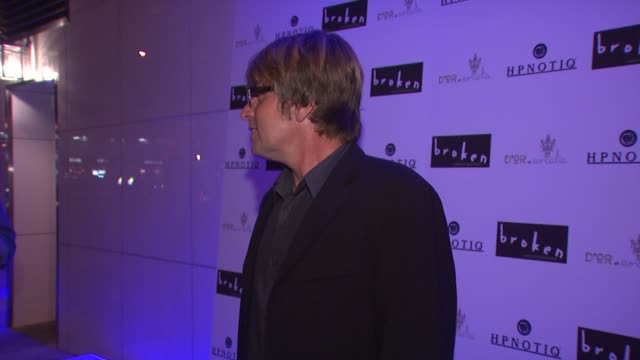 allan white at the 'broken' premiere and after party at d'or at amalia in new york new york on october 2 2007 - dor stock videos & royalty-free footage