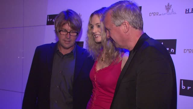 allan white heather graham and jerry wayne at the 'broken' premiere and after party at d'or at amalia in new york new york on october 2 2007 - dor stock videos & royalty-free footage
