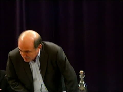 alleged boris berezovsky assassination plot england london int * * beware flash photography * * boris berezovsky along to press conference boris... - 実業家 ボリス・ベレゾフスキー点の映像素材/bロール