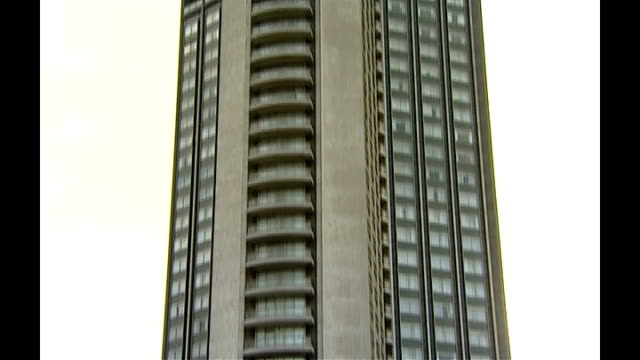 alleged boris berezovsky assassination plot ext london hilton hotel on park lane - assassination stock videos and b-roll footage