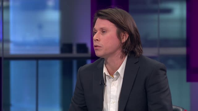 Alleged computer hacker Lauri Love wins extradition appeal ENGLAND London GIR INT Lauri Love STUDIO interview SOT