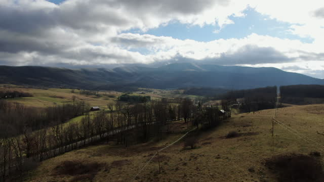 alleghany mountains oak - south stock videos & royalty-free footage