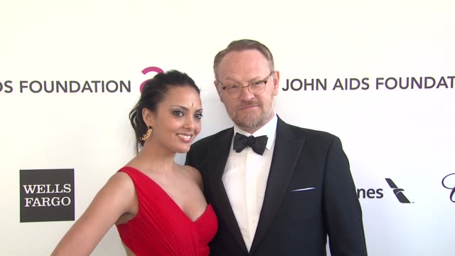 Allegra Riggio Jared Harris at Elton John AIDS Foundation Presents 21st Annual Academy Awards Viewing Party Sponsored By Chopard Neuro Drinks And...