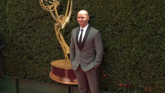 Allen Clary at the 2018 Daytime Emmy Awards at Pasadena Civic Auditorium on April 29 2018 in Pasadena California