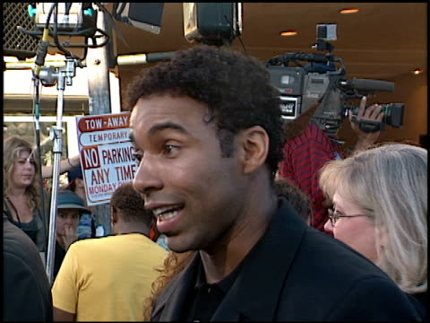 Allen Payne at the Premiere of 'The Perfect Storm' on June 27 2000