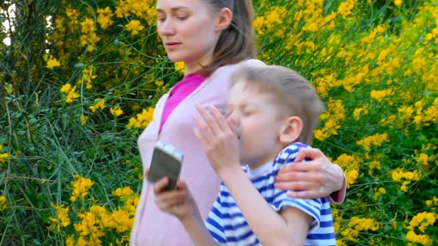 Allergische in bloom