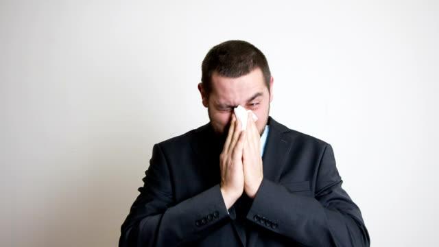 vídeos de stock, filmes e b-roll de alergia  - tecido humano