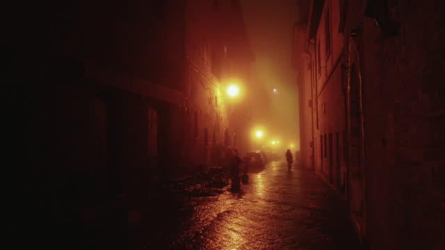 Alley in the center of Monepulciano