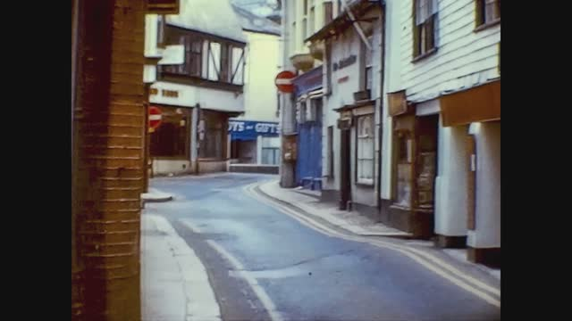 alley of a small english town - alley stock videos & royalty-free footage