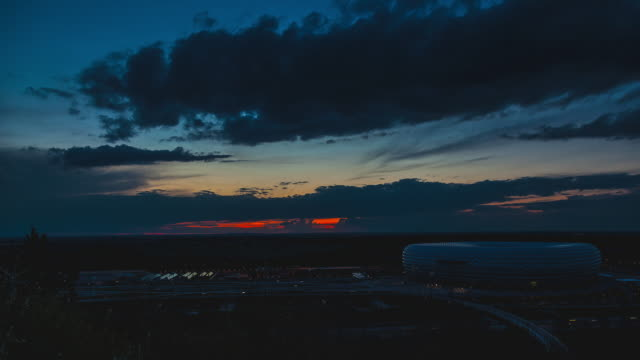 T/L Allianz Arena sunset