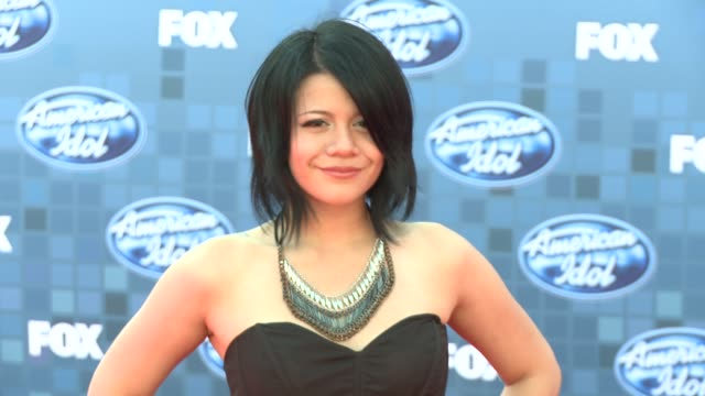 allison iraheta at the fox's 'american idol 2011' finale results show at los angeles ca - results show stock videos & royalty-free footage