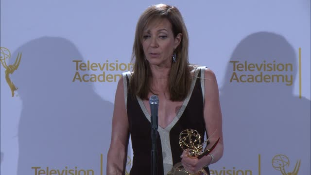 SPEECH Allison Janney at 2014 Creative Arts Emmy Awards in Los Angeles CA