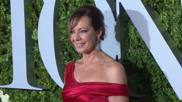 Allison Janney at 2017 Tony Awards Red Carpet at Radio City Music Hall on June 11 2017 in New York City