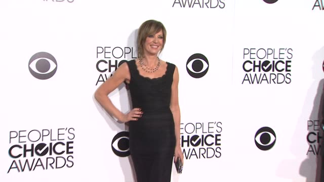 Allison Janney at 40th Annual People's Choice Awards Arrivals at Nokia Theatre LA Live on in Los Angeles California