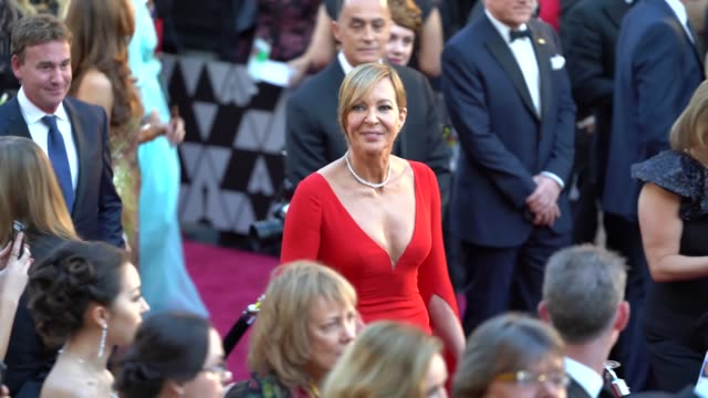 Allison Janney at 90th Academy Awards Arrivals Alternative Views at Dolby Theatre on March 04 2018 in Hollywood California
