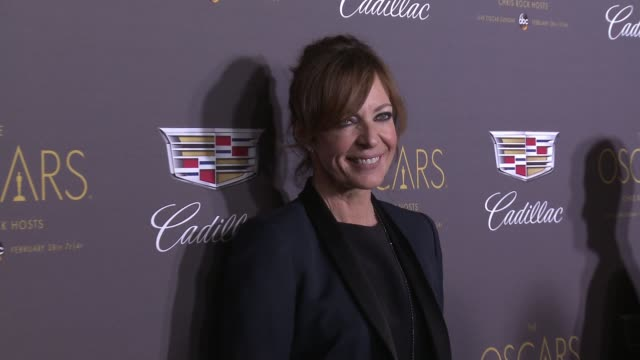 Allison Janney at Cadillac Hosts First Ever PreOscar Event at Chateau Marmont on February 25 2016 in Los Angeles California