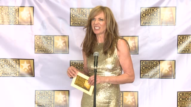 SPEECH Allison Janney at the 2014 Critics' Choice Television Awards at The Beverly Hilton Hotel on June 19 2014 in Beverly Hills California