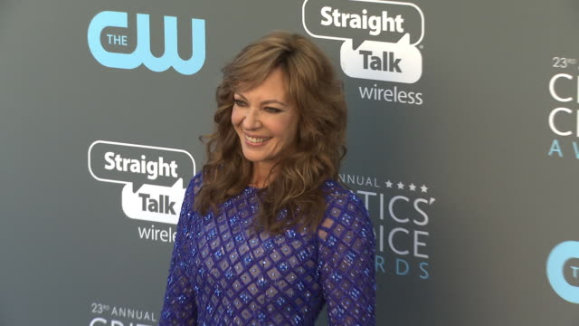 Allison Janney at the 23rd Annual Critics' Choice Awards at Barker Hangar on January 11 2018 in Santa Monica California