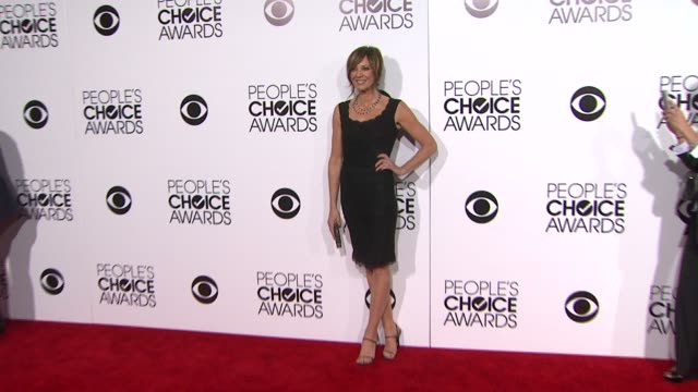 Allison Janney at the 40th Annual People's Choice Awards Arrivals at Nokia Theatre LA Live on in Los Angeles California