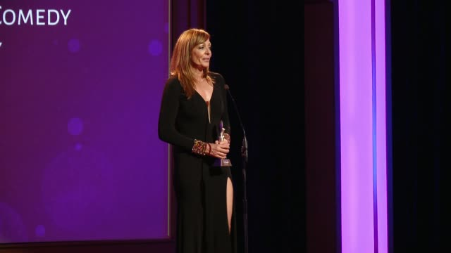 SPEECH Allison Janney at The 41st Annual Gracie Awards in Los Angeles CA