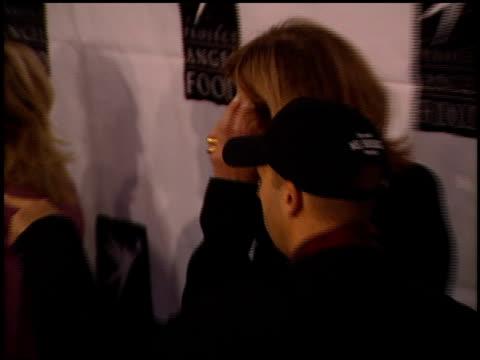 Allison Janney at the Divine Design Gala Fund Raiser at Barker Hangar in Santa Monica California on November 29 2001