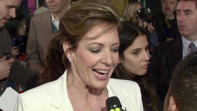 Allison Janney at the 'Juno' Premiere at the Mann Village Theatre in Westwood California on December 3 2007
