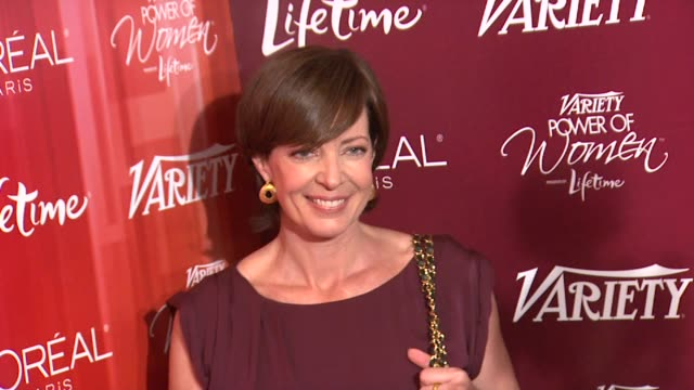 Allison Janney at the Variety's 3rd Annual 'Power of Women' Luncheon at Beverly Hills CA