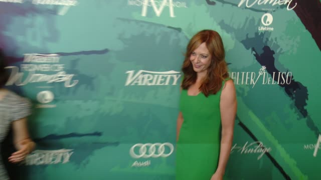 Allison Janney at Variety's 2014 Power of Women Luncheon at Four Seasons Hotel Los Angeles on October 10 2014 in Beverly Hills California