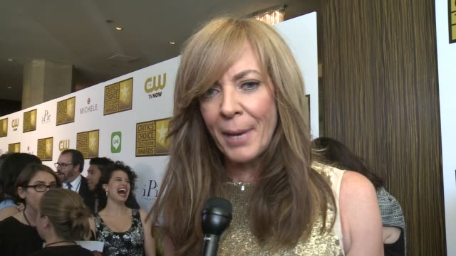 INTERVIEW Allison Janney on being nominated on the event on series roles for women and on what she's currently working on at the 2014 Critics' Choice...