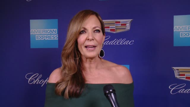 INTERVIEW Allison Janney on having a part written for her and being in Palm Springs at the 29th Annual Palm Springs International Film Festival...