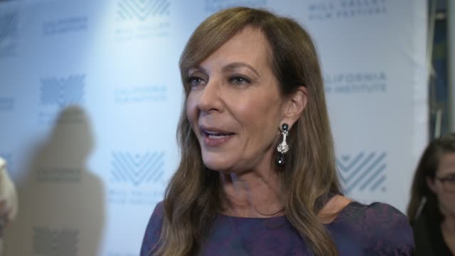 INTERVIEW Allison Janney on her character what attracted her to the role what people will think of the movie the 'West Wing' filming 'Mom' at the 'I...