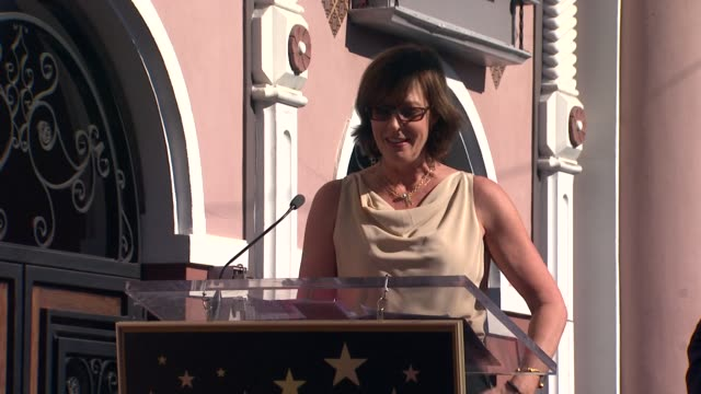 Allison Janney on John Wells at John Wells Honored With Star On The Hollywood Walk Of Fame on 1/12/12 in Hollywood CA
