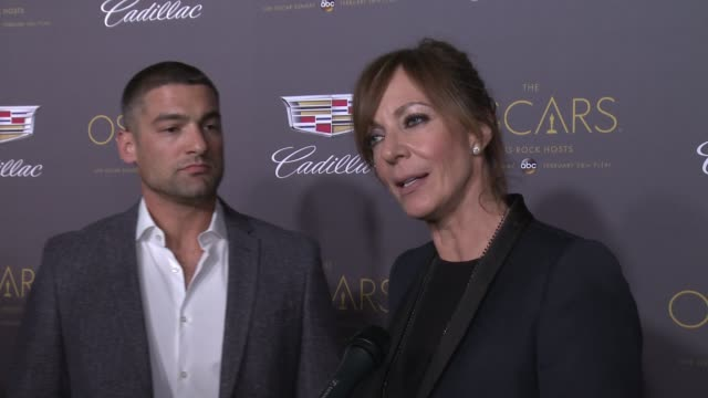 INTERVIEW – Allison Janney on Oscar plans and hopeful winners at Cadillac Hosts First Ever PreOscar Event at Chateau Marmont on February 25 2016 in...