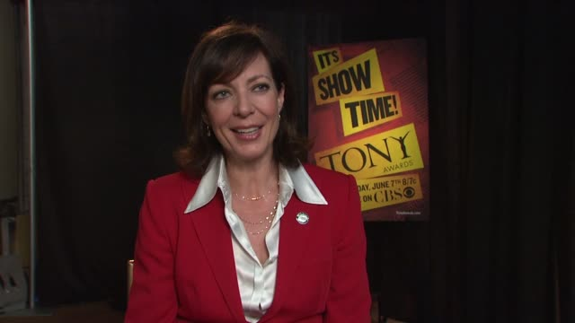 Allison Janney on singing and dancing in her Tonynominated role in 9 to 5 The Musical on growing up watching the Carol Burnett show on becoming...