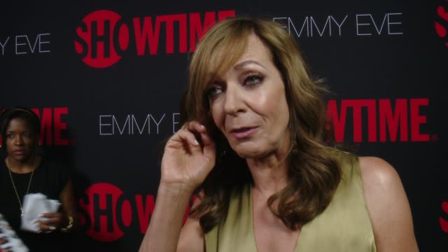 INTERVIEW Allison Janney on what it means to be nominated again what Showtime's 24 nominations say about the network at SHOWTIME 'Emmys Eve' 2014 on...