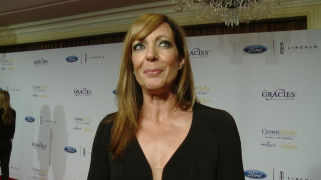 INTERVIEW Allison Janney on what winning a Gracie Award means to her how women in media have inspired her and who her wonder woman is at The 41st...