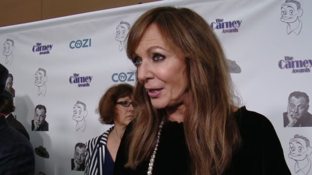 INTERVIEW Allison Janney on who she's presenting a Carney Award to why they're deserving of the honor why character actors deserve to be recognized...
