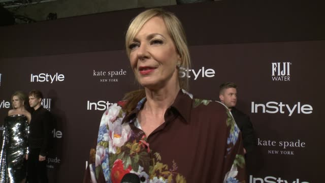 INTERVIEW Allison Janney on why she wanted at attend the Instyle Awards the importance of the glam squad and her goto style rule of thumb at 2018...