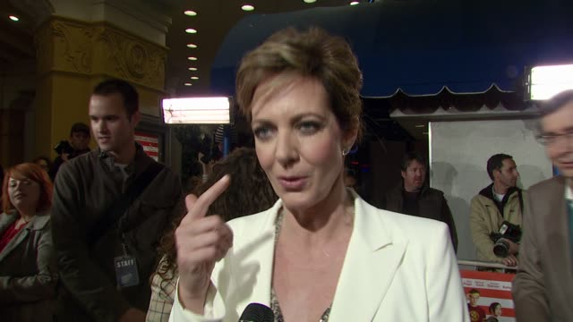 Allison Janney on why she wanted to do the film playing a supportive stepmom and the nontraditional family that is portrayed at the 'Juno' Premiere...