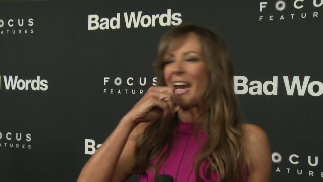 INTERVIEW Allison Janney on why this film is so universally loved at 'Bad Words' Los Angeles Premiere Presented By Focus Features in Los Angeles CA