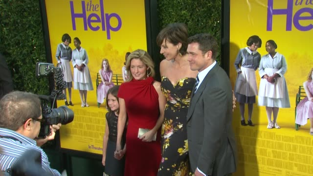 Allison Janney Tate Taylor at the 'The Help' Los Angeles Premiere at Beverly Hills CA